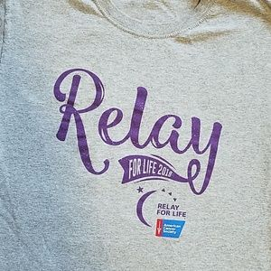 Fruit of the Loom Shirts & Tops - Relay for Life Youth Large